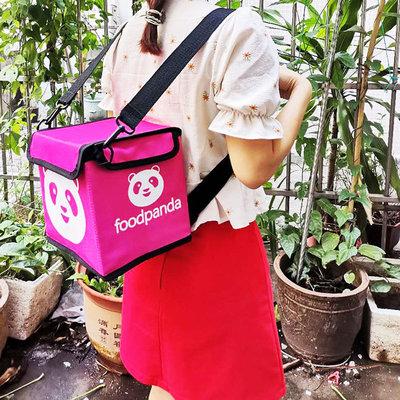 Foodpanda 🐼 UberEats 小外送帆布背包,可當小禮物🎁
