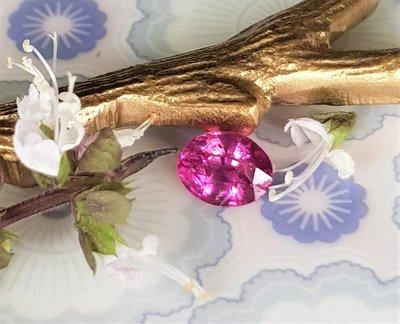 揚邵一品(附權威證)2.03克拉錫蘭粉紅藍寶石 天然無燒 濃郁粉紅 光芒細緻 色彩甜美 斯里蘭卡粉紅剛玉 值得擁有