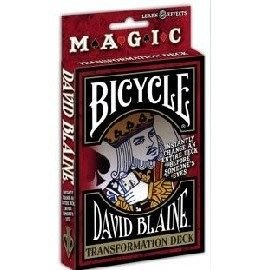 Bicycle DAVIDBLAINE 變形撲克