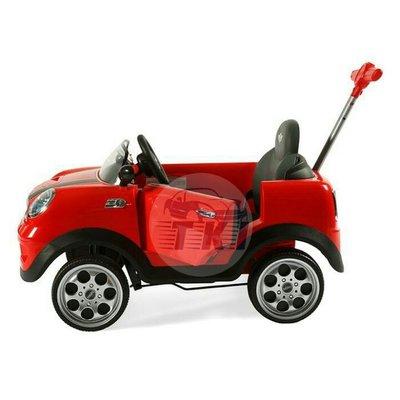 【宗剛零售/批發】正版授權 Mini Cooper 腳踏四輪後控助步車 腳踏車 手推車 嬰兒車