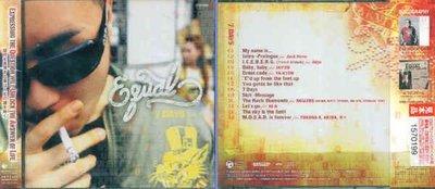 (日版全新未拆) Equal 4張專輯一起賣 -  7 Days + EQUAL + King & Queen + Th