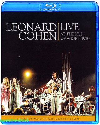 Leonard Cohen Live at the Isle of Wight 1970 (藍光BD25G)@XI31227