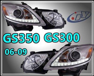 》傑暘國際車身部品《 新 LEXUS GS350 GS300  07 08 09 類RX450 R8 燈眉魚眼 大燈