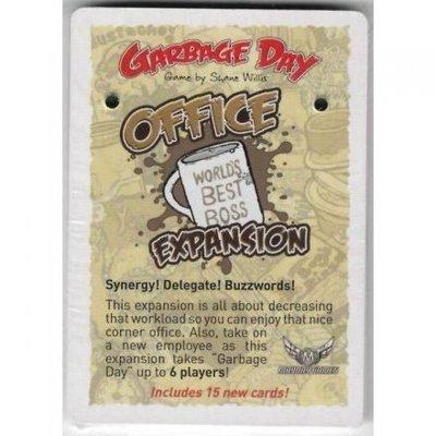 大安殿實體店面 送牌套 集垃日:辦公室擴充 Garbage Day:Office Expansion 官方正版益智桌遊