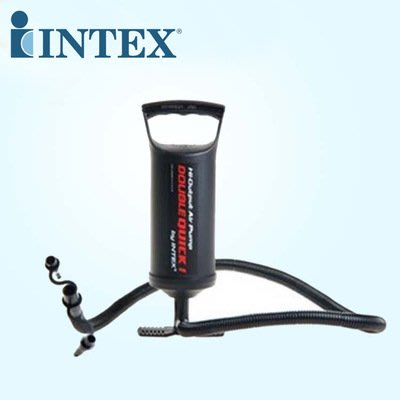 美國 INTEX 68612 手壓大充氣筒 充氣泳池 充氣床 兒童游泳圈