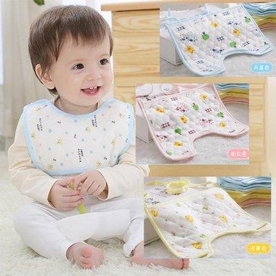 店長嚴選新生嬰幼兒純棉圍嘴方形口罩式防水口水巾寶寶系帶圍兜吸水10條裝