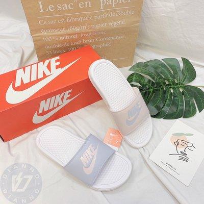 帝安諾-實體店面 Nike Benassi JDI 藍紫 粉藍 拖鞋 馬卡龍 冰淇淋 棉花糖 343881 114