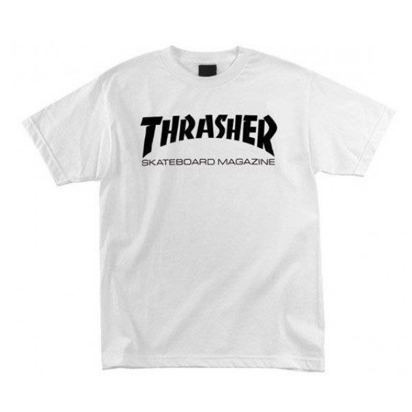 【HOPES】THRASHER SKATE MAG-WHITE