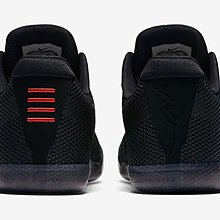 Nike Kobe zoom 11 EP Low elite black out FKB 極致黑 專屬紀念鞋款