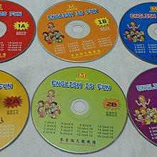 【彩虹小館】Y16兒童CD~ENGLISH IS FUN(6片)麥米倫文教