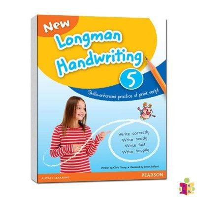 [文閲原版]新朗文小學書寫系列第五冊 三年級 英文原版 New Longman Handwriting 5 Olivia Young Pearson