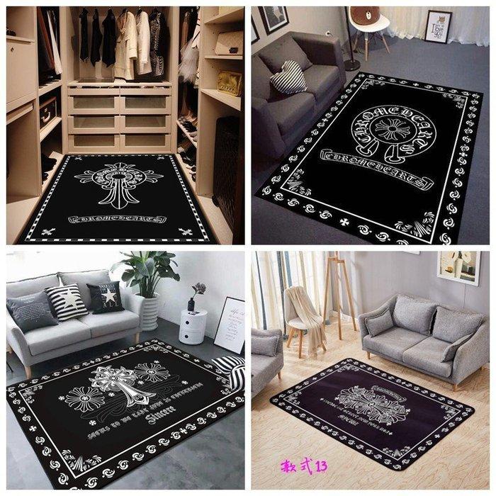 克羅心潮牌個性地毯臥室客廳時尚現代玄關長方形衣帽間茶几家用床邊地墊