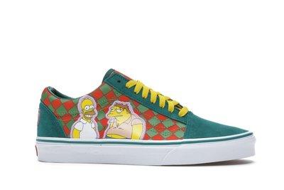 【美國鞋校】預購 Vans Old Skool The Simpsons Moes 辛普森