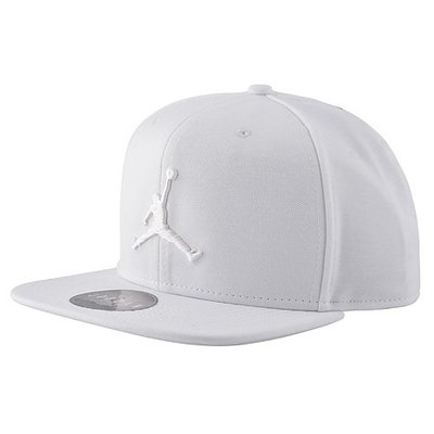 NIKE JORDAN JUMPMAN SNAPBACK 白 刺繡 後扣 棒球帽 861452-121