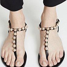 tory burch 珍珠涼鞋