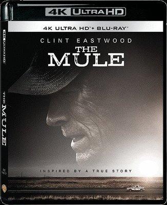 合友唱片 面交 自取 毒行俠 / 賭命運轉手 4K UHD 雙碟裝 The Mule UHD+BD 港版