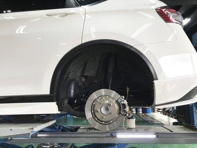 JK Racing 後加大碟盤組 330mm Luxgen U6 S5  原廠17吋鋁圈 直上 不需墊片