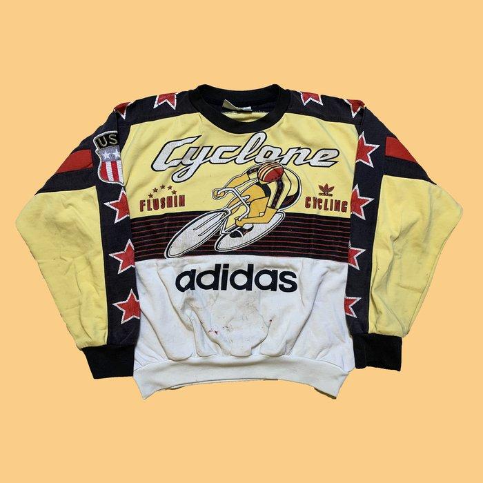 JCI:Vintage 80s adidas x Olympic 奧運紀念大學T 嘻哈 / N.W.A / 西岸