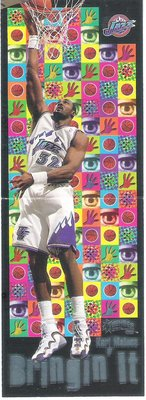 1998 Skybox Thunder Bringing It  KARL MALONE  特殊卡