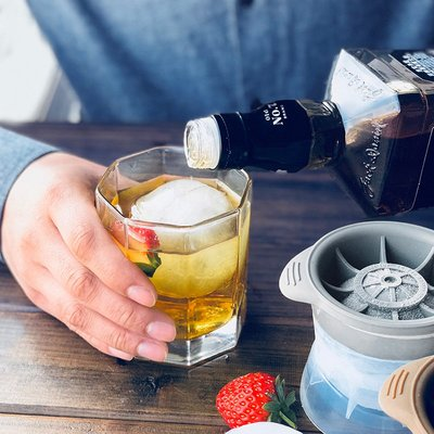 製冰工具美國Tovolo Ice Molds 硅膠冰塊模具 威士忌冰球制作工具酒吧冰格模具
