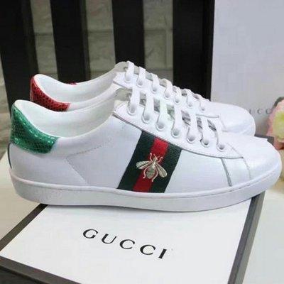 Gucci 小蜜蜂小白鞋 訂金