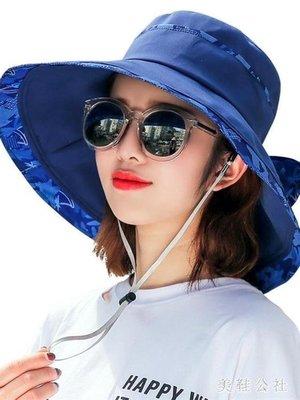 ZIHOPE 遮陽帽 夏季新款時尚百搭戶外出游沙灘涼帽防曬帽太陽帽ZI812
