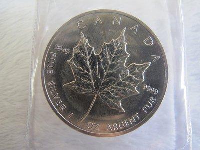 二手舖~澳洲紀念銀幣(楓葉) 紀念幣 銀幣 錢幣