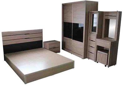 【尚品傢俱-崇德店】 779-08  森物語 原木色5尺床組 雅房家具組/臥室床櫃組/Bedroom Furniture