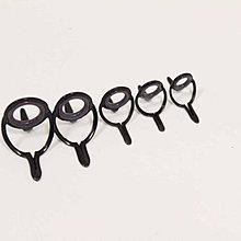 采潔二手外匯釣具雙腳 DAIWA GAMAKATSU RYOBI SHIMANO 筏釣竿專用 不銹鋼導環 富士珠環編號k
