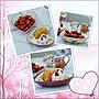 維多利亞風 白色玫瑰花心型點心盤一對 浪漫蕾絲風花卉陶瓷深盤 糖果盤水果盤點心盤收納盤喜糖盤甜品【歐舍傢居】