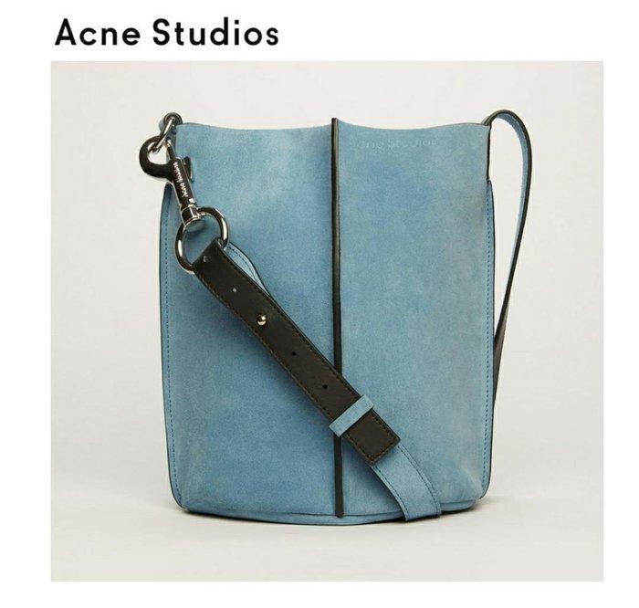Acne Studios ►market  ( 藍色 ) 肩背包 斜背包 水桶包|100%全新正品