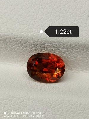 💖玉殿珠寶💖天然無燒藍寶石1.22克拉