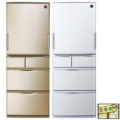 [家事達] SHARP 夏寶 (SJ-XW44AT) 440L五門冰箱 特價---台中可自取
