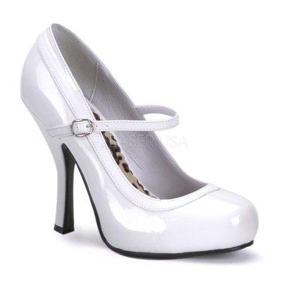氣質女神漆皮瑪莉珍鞋~迷人OL上班穿搭~加寬大尺碼(鋼管舞/車模/情人節/婚紗/尾牙)~美國空運Pleaser精品高跟鞋