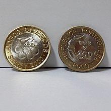 【幣】葡萄牙2000年發行雪梨奧運紀念幣 200 Escudos