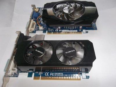 技嘉顯示卡,GV-N630-2GI,,GV-N4300C-1GL,,共2塊,良品