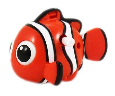 【卡漫迷】 尼莫 發條 可動 公仔 ㊣版 Nemo 玩具 擺飾裝飾 收藏 小丑魚 海底總動員 Finding 辦公桌