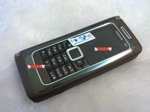 『皇家昌庫』Nokia E90 庫存  芬蘭製造 經典商務機種 Mocca.Red E系列最新旗艦機