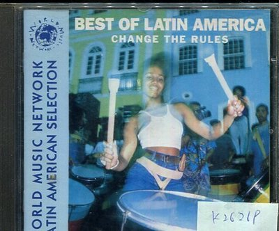 *真音樂* THE BEST OF LATIN AMERICA 二手 K26269