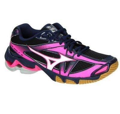 [迦勒=]  MIZUNO 美津濃 女 排球鞋 室內運動鞋 WAVE BOLT 6 V1GC176072