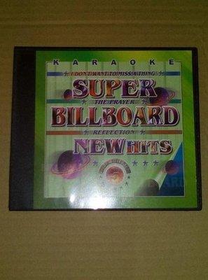英語歌卡拉OK教唱VCD BILLBOARD 5 I Don't Want to Miss a Thing 宙字櫃4F
