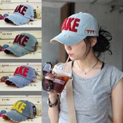 軍帽 嘻哈美式風格字母造型帽 遮陽帽(7色任選) 【KS0415】