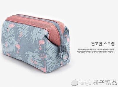 哆啦本鋪 網紅化妝包INS風超火韓國小號便攜女袋手拿簡約隨身化妝品收納盒  D655