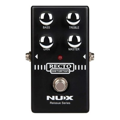 大鼻子樂器 NUX Recto Distortion 失真 效果器