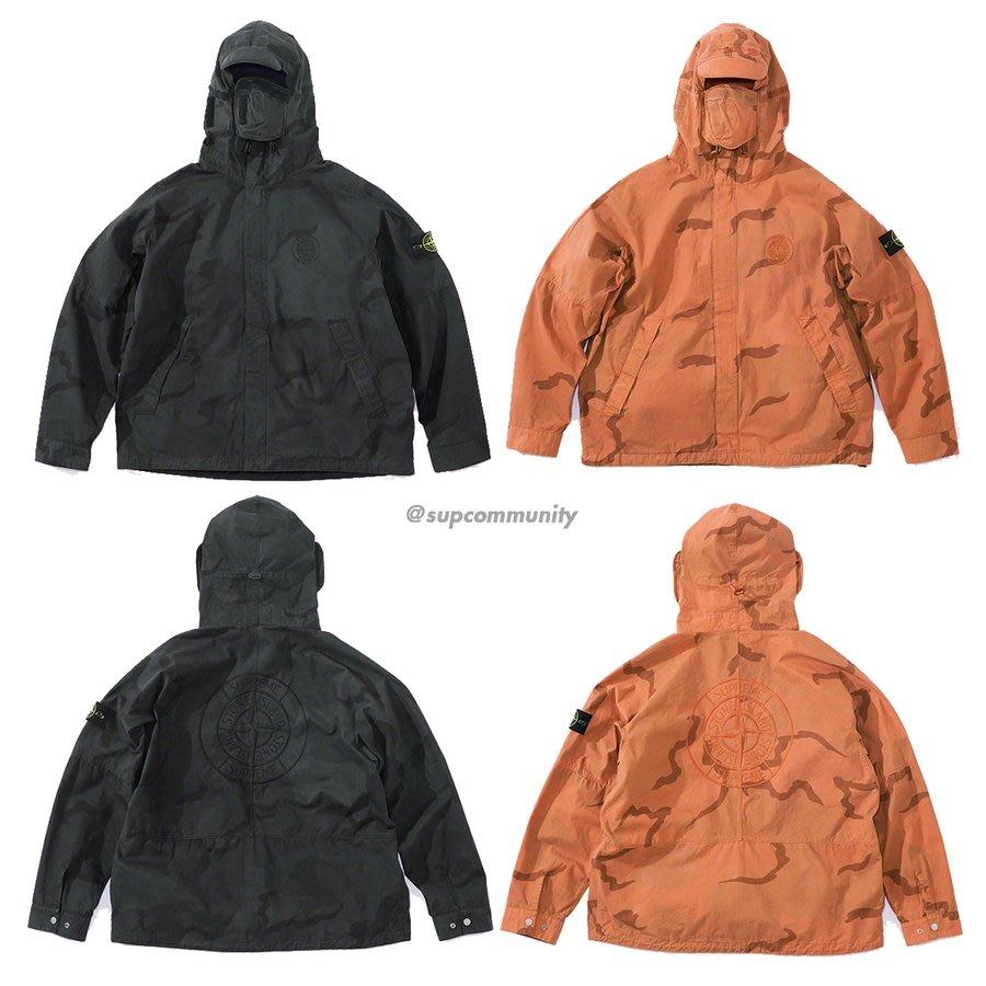 4189ca90d 紐約范特西】預購Supreme ss19 Stone Island Riot Mask Camo Jacket 外套 ...