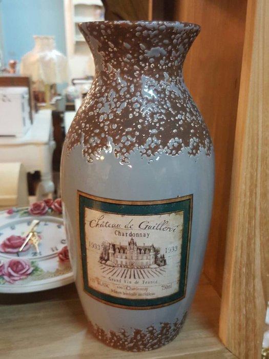 尋真花瓶 上釉高溫陶 圓型 花瓶 花器