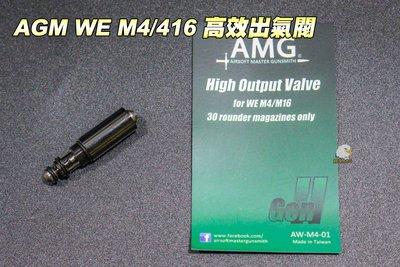 【翔準軍品AOG】AMG WE M4/416 高效出氣閥 AWM401