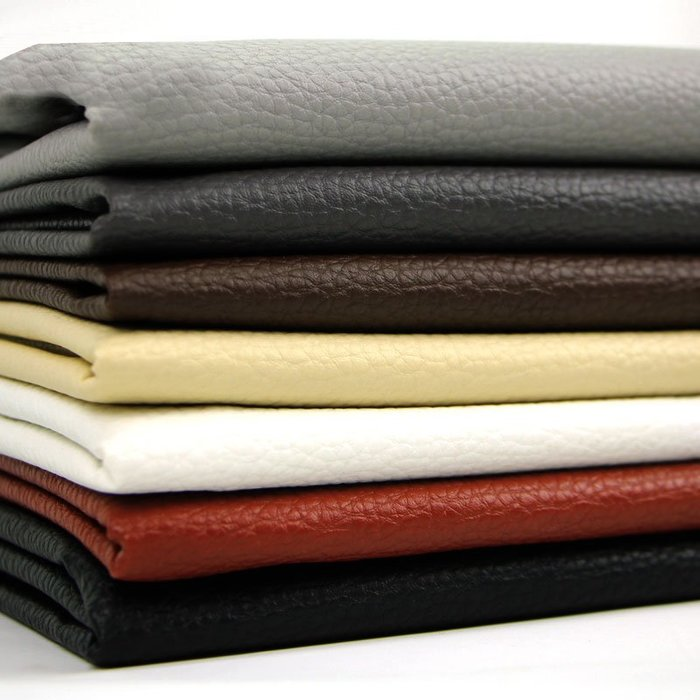 衣萊時尚-皮革面料 軟包沙發布料批發荔枝紋人造革硬包床頭皮子加厚 pu皮料(2件起購)