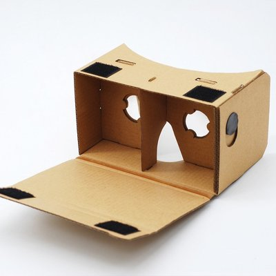 Google cardboard 谷歌 紙板DIY VR 手機3D 眼鏡暴風魔鏡/ 3D立體眼鏡 虛擬實境 紙盒BOX 台中市