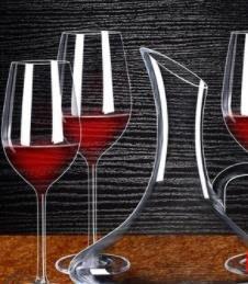 紅酒杯家用紅酒杯醒酒器6只大號高腳葡萄...